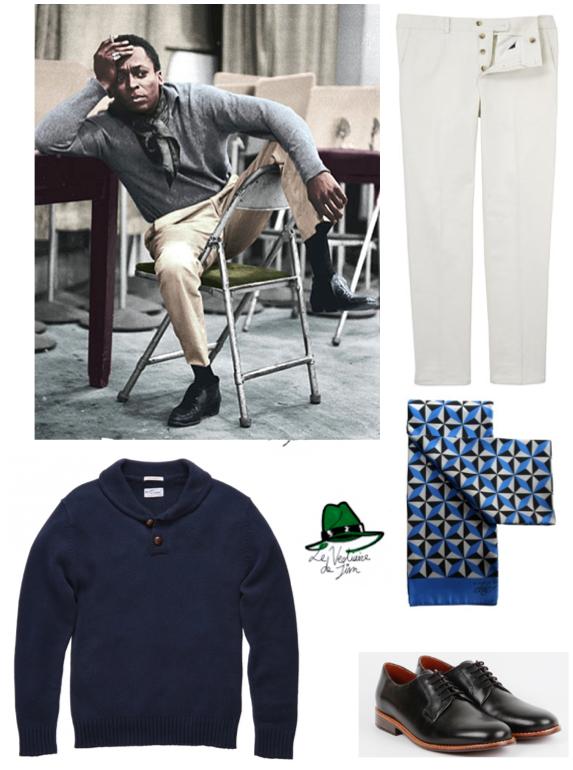 Pantalon De Fursac, Foulard en Soie A Piece of Chic, Pull Gant Rugger, Derby Le Centre Commercial